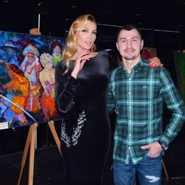 Анна Гомонова и Виктор Постол
