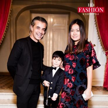 Валид и Лида Арфуш с сыном Адамом