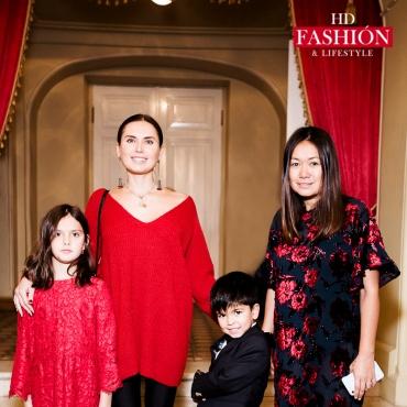 Эльвира Сысенко с дочкой,  Лида Арфуш с сыном Адамом