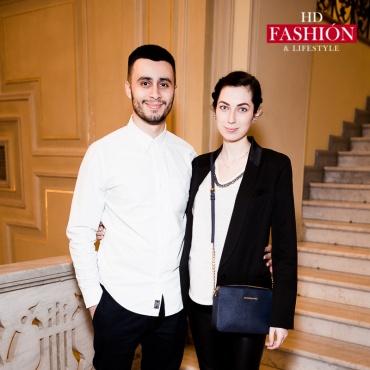 Карим Арфуш с супругой Натальей