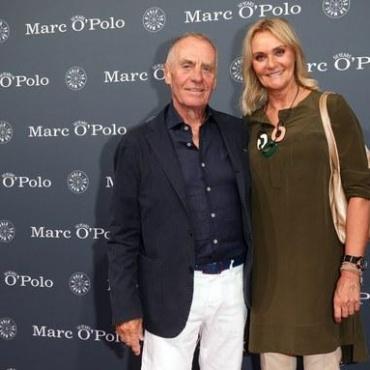 Вернер Бёк с супругой Эли