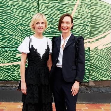 Юлия Костецкая и Ольга Сушко