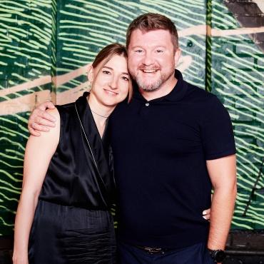 Елена Сапунова и Дима Борисов